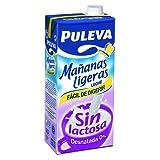 Puleva Leche Mañanas Ligeras Desnatada sin Lactosa - 1 l