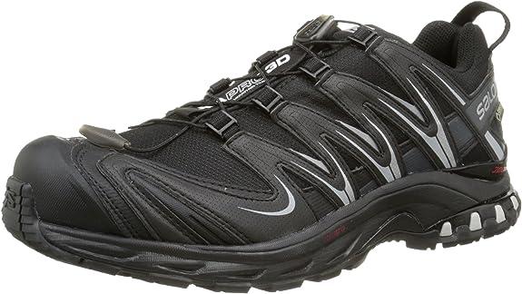 Salomon L36679600, Zapatillas de Trail Running para Mujer, Negro ...