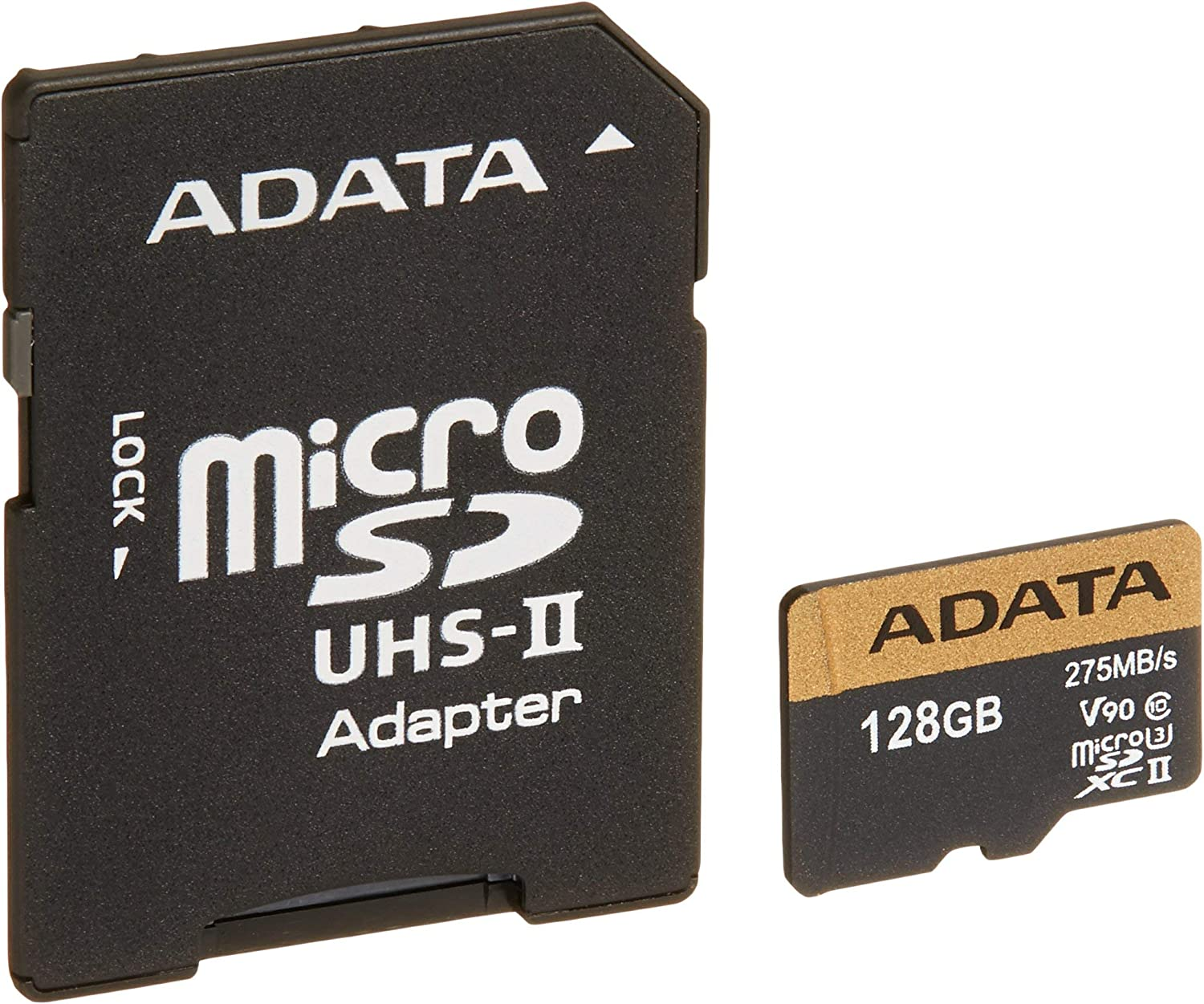 microSD Premier One 128 UHS2/U3/CL10 + Adapter