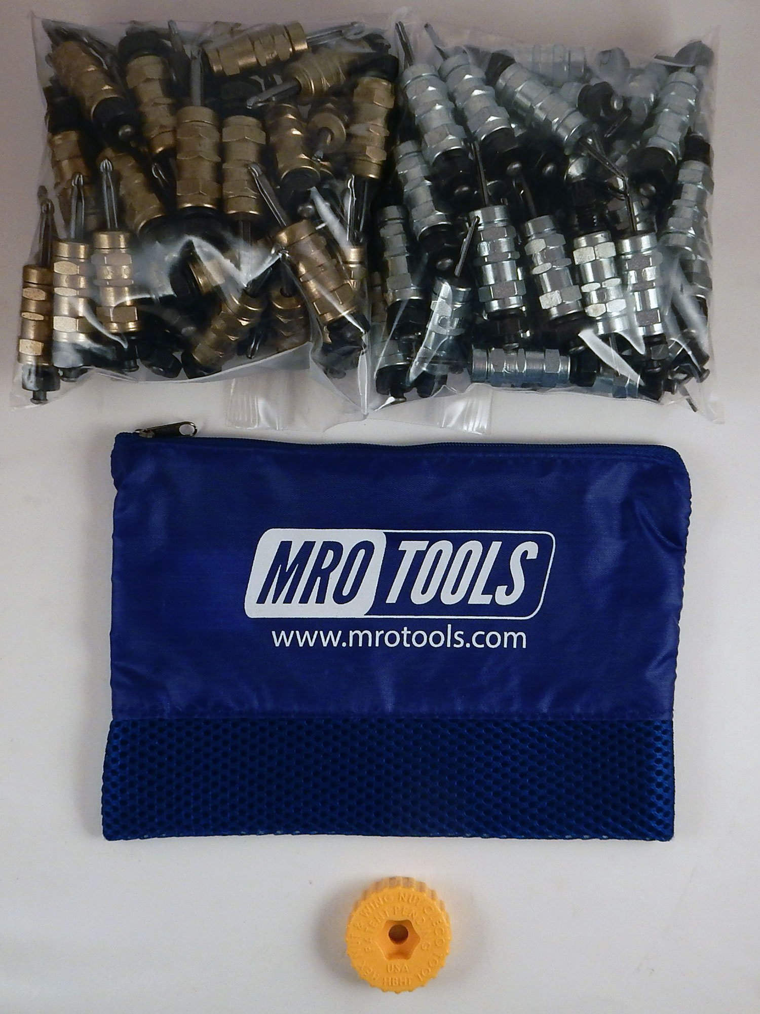 50 3/16 & 50 3/32 Standard Hex-Nut Cleco Fastener w/ HBHT Tool & Bag (KHN4S100-5) by MRO Tools Cleco Fasteners