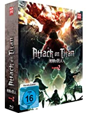 Attack on Titan - 2. Staffel - Blu-ray 1 + Sammelschuber (Limited Edition)