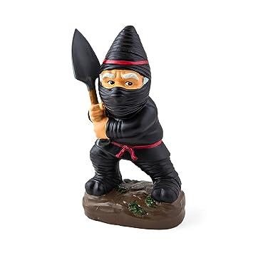 Beautiful Garden Knome Inc Ninja Gnome Statues U Intended Decor