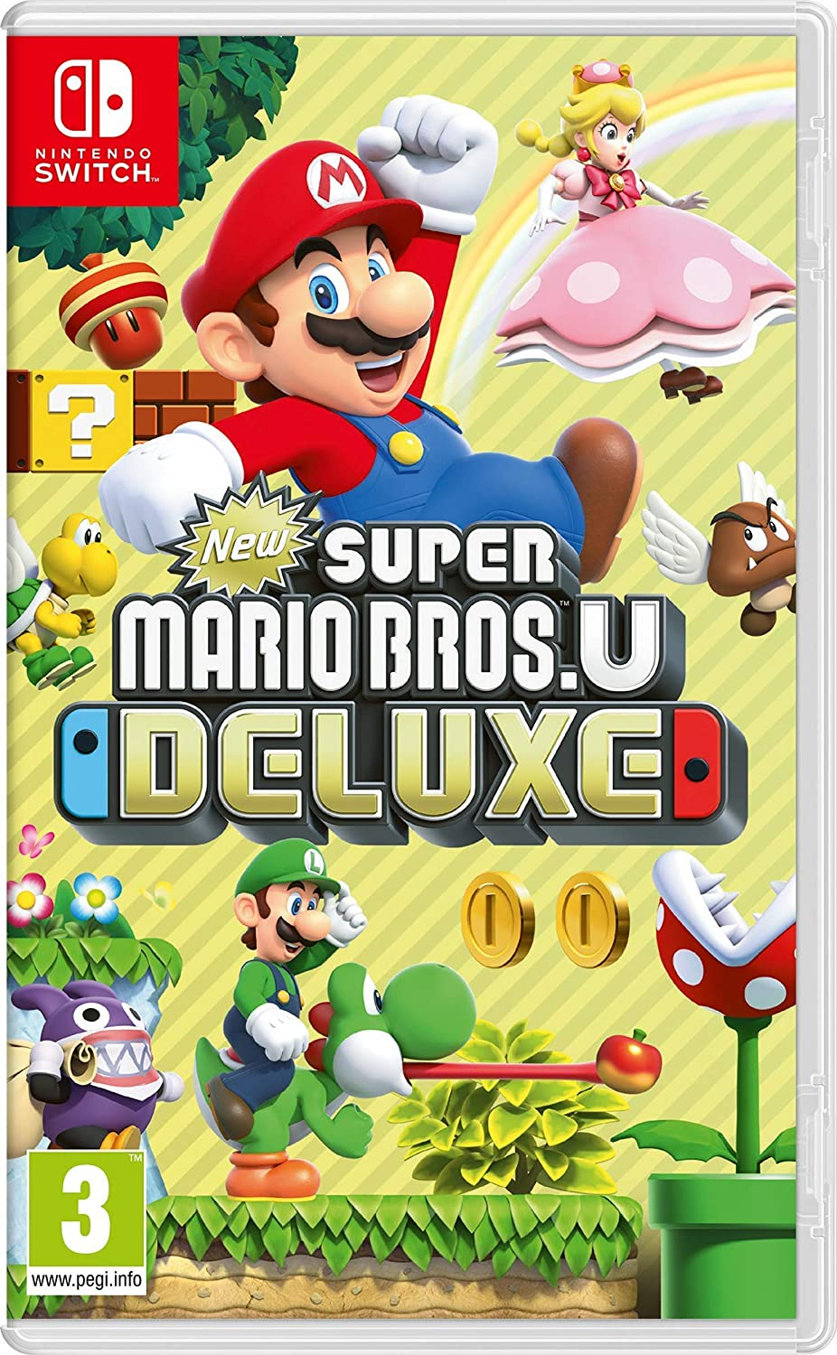 New Super Mario Bros. U Deluxe - Nintendo Switch [Importación italiana]