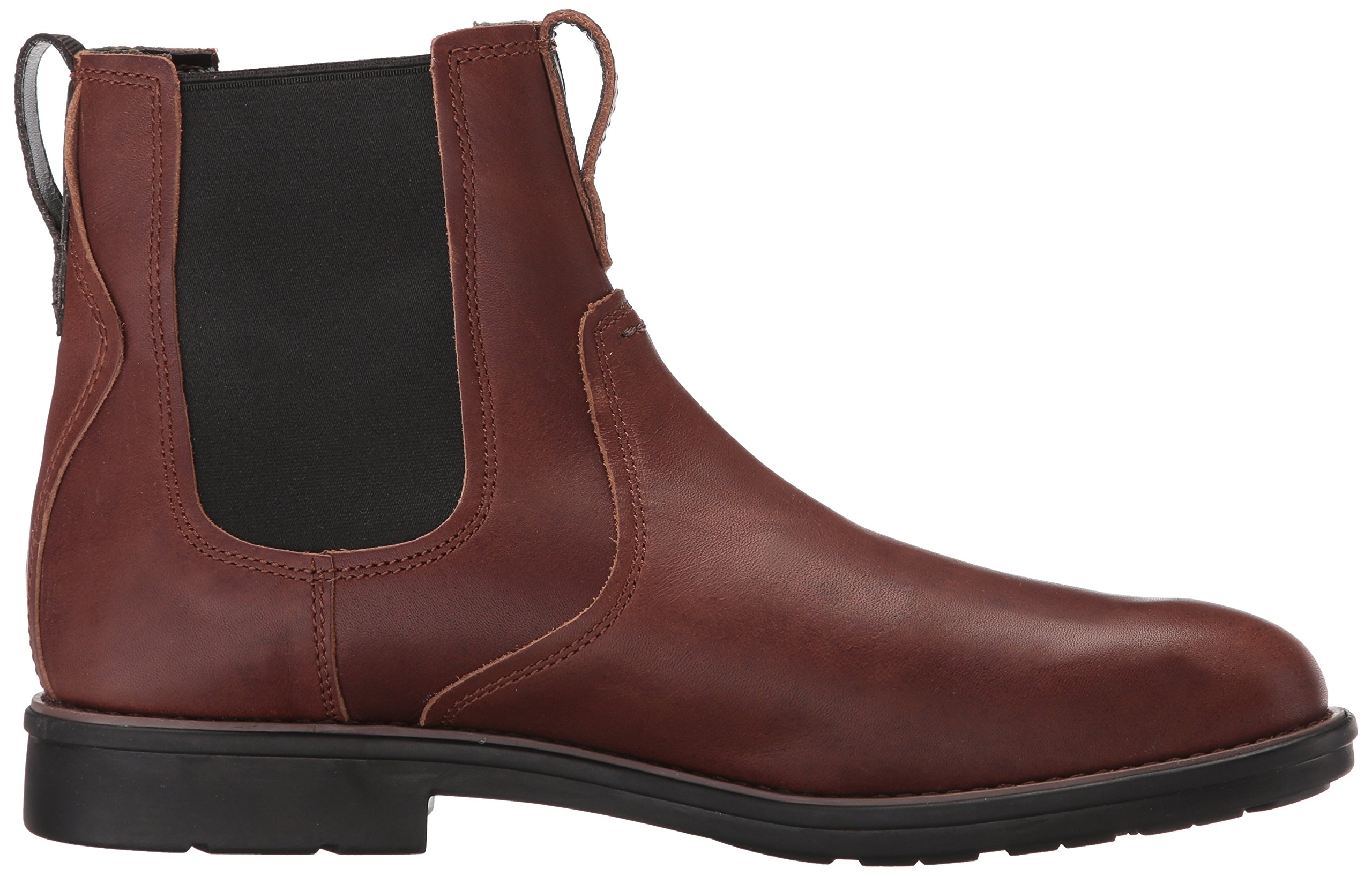 Timberland Men's Carter Notch Chelsea Boot, Dark Brown Full Grain, 14 C US by Timberland (Image #7)