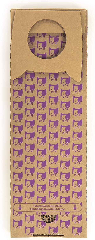 SmartyKat Super Scratcher Cat Scratcher Corrugated Catnip Scratcher