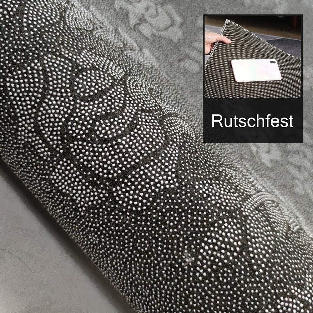 ZVEZVI Teppich L/äufer Flur K/üche rutschfest Waschbar Bunter Vintage K/üchel/äufer Teppichl/äufer Polyester Meterware Anpassbar Size : 50/×70cm