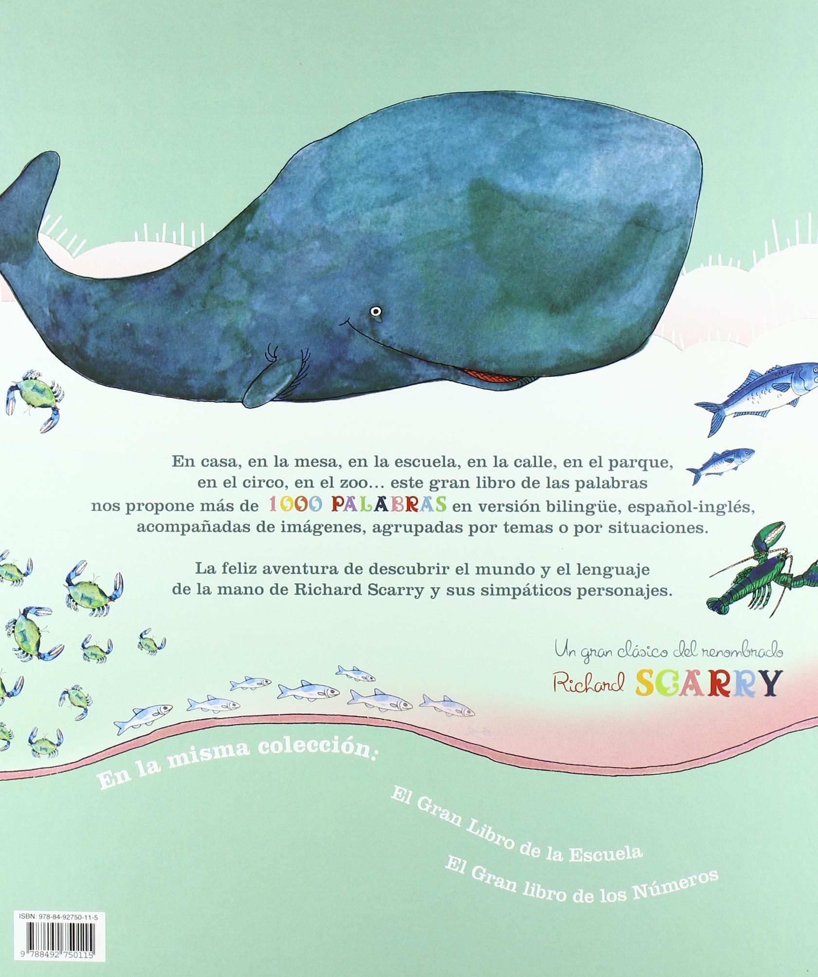 El Gran Libro De Las Palabras: Amazon.es: Richard Scarry, Esther Rubio: Libros