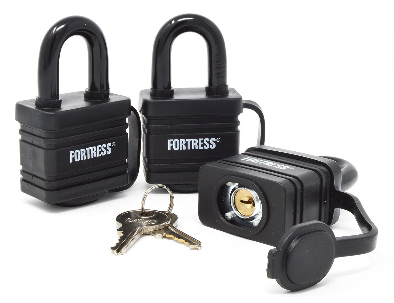 Amazon.com: Master Lock 1804TRI Fortress Series Covered Laminated ...