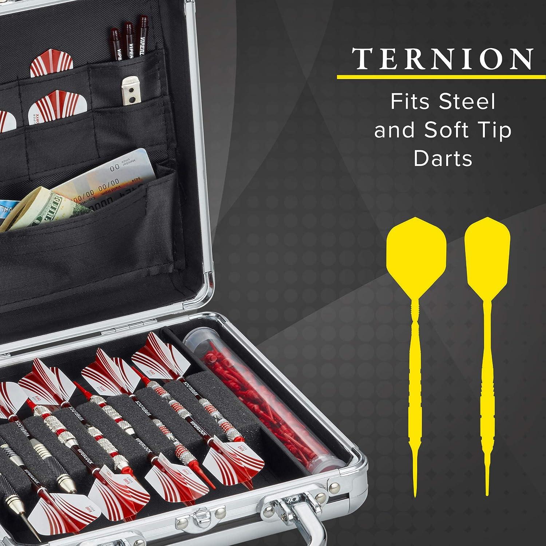 Casemaster Ternion 9/Dart Aluminium Storage//Travel Case