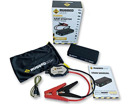 Rugged Geek RG1000 INTELLIBOOST 1000A Portable Auto Jump Starter