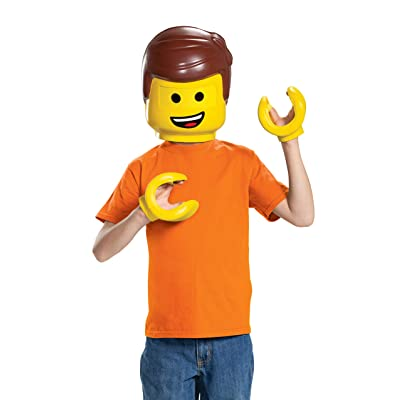 Disguise Emmet LEGO Movie 2 Costume Kit: Toys & Games
