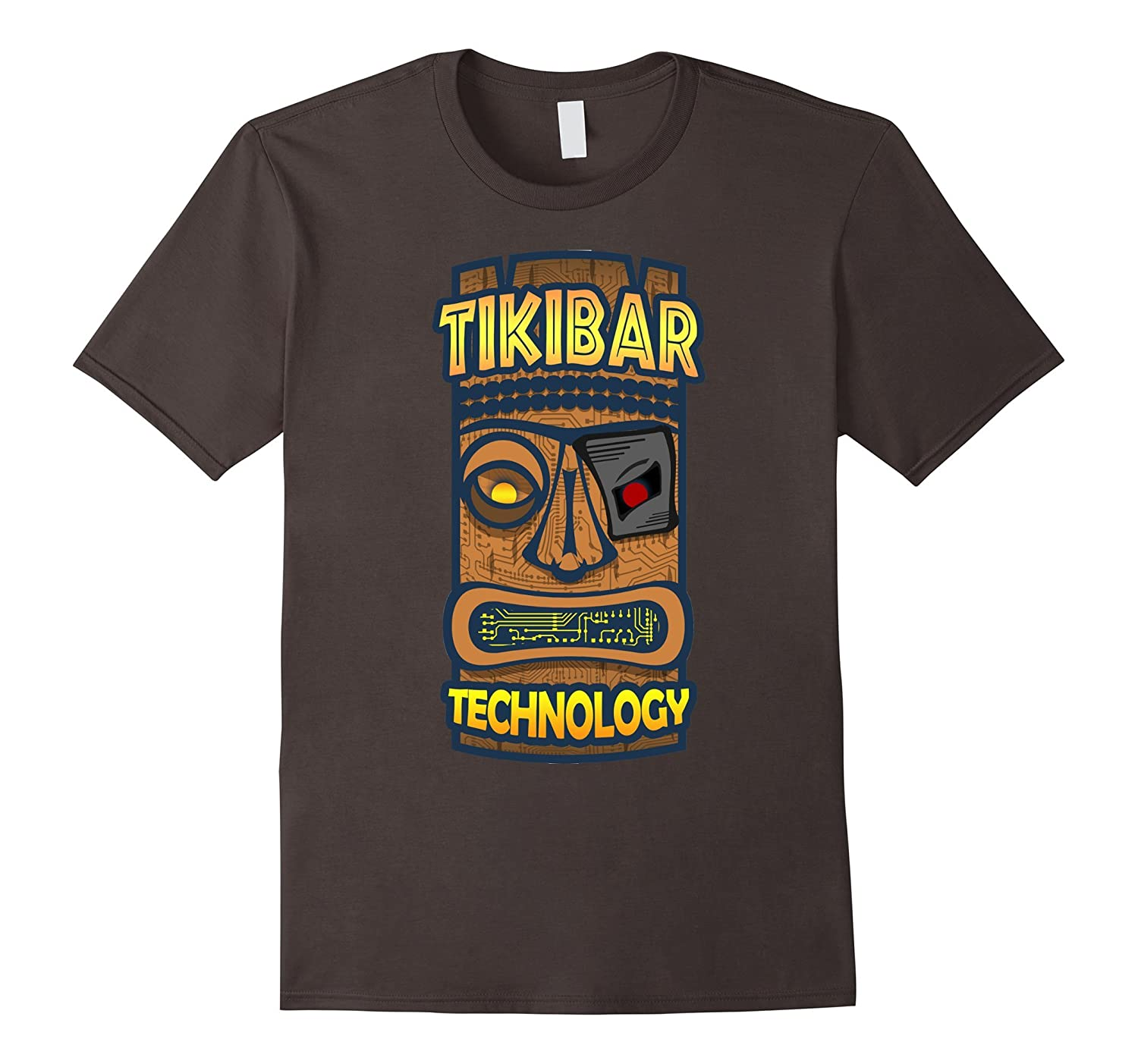 Tiki Bar Technology Logo T-Shirt-Vaci