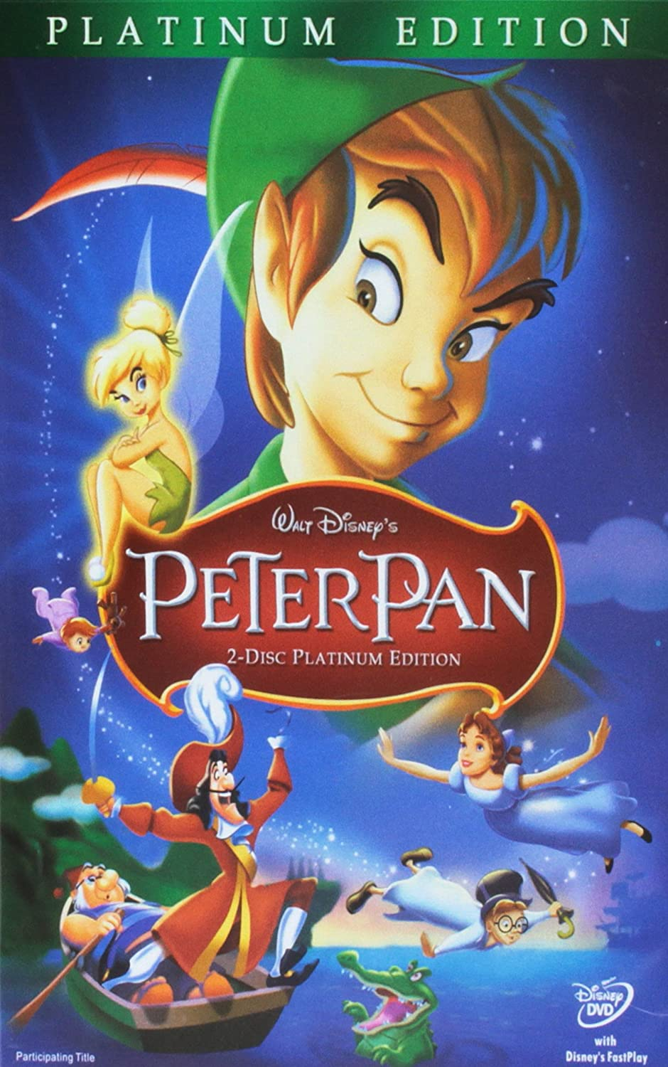amazon com peter pan two disc platinum edition bobby driscoll