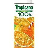 トロピカーナ 100% オレンジ 1000ml LLスリム×6本