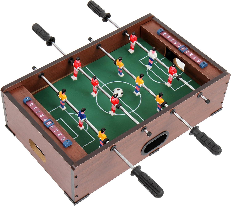 Jago Mesa multijuegos 5 en 1 (futbolín, billar, ajedrez ...