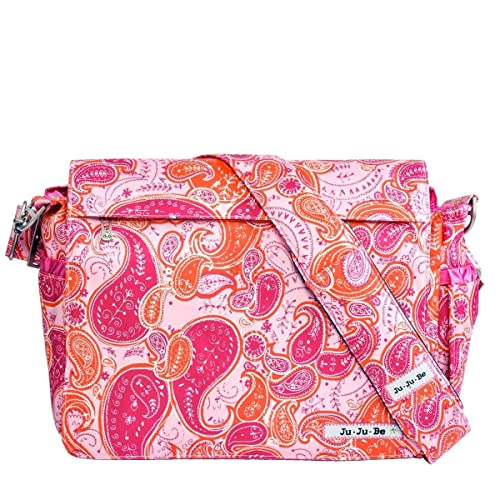 Ju-Ju-Be Better Be Messenger Style Diaper Bag, Perfect Paisley