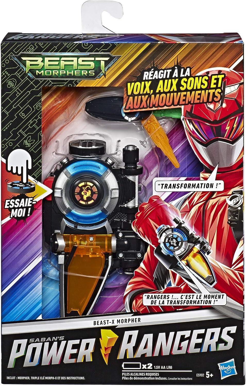 Power Rangers – Pulsera Morpher X electrónica Beast Morphers – Juguete
