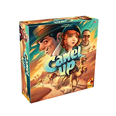 Eggertspiele Camel Up Board Game, Multicolor