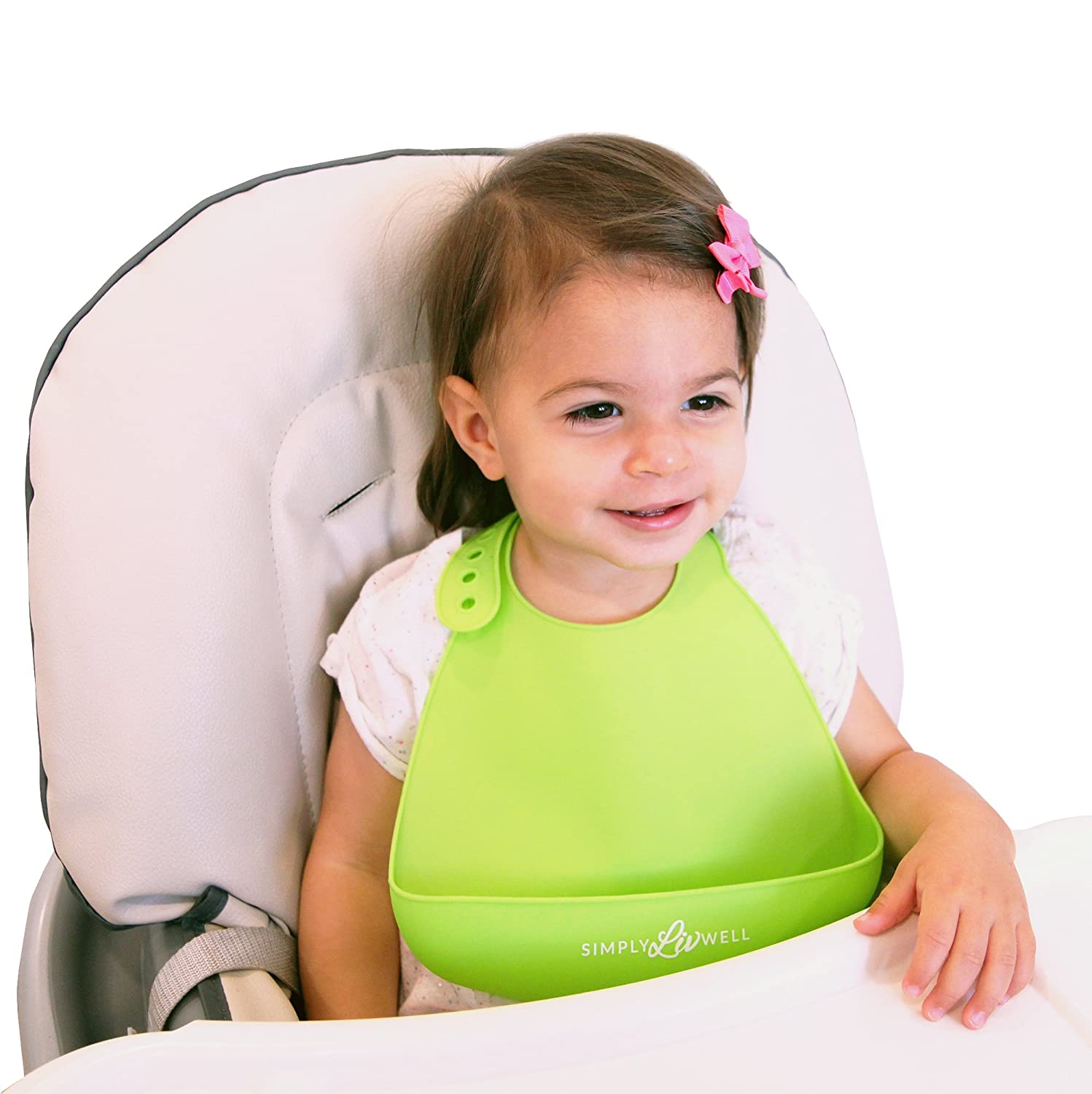 Amazon SALE Best Silicone Baby Bibs with Built In Food