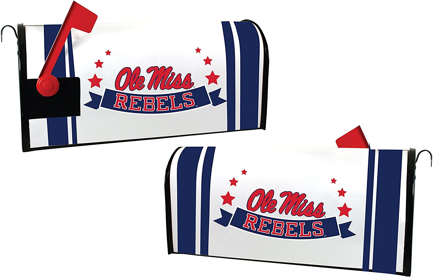 MISSISSIPPI MAILBOX COVER-OLE MISS REBELS MAGNETIC MAILBOX COVER-NEW FOR 2016!