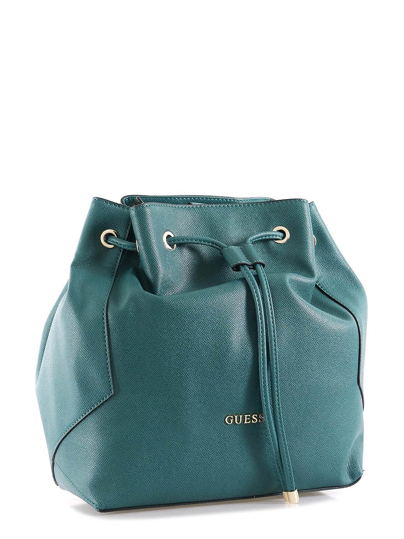 Guess Isabeau Bucket hwisabp6469 verde Size: 29 x 30 x 14 cm ...