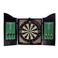 AK Sport Dartboard Dartscheibe Xq-max Michael Van Gerwen Home Dart Center, Schwarz, One Size