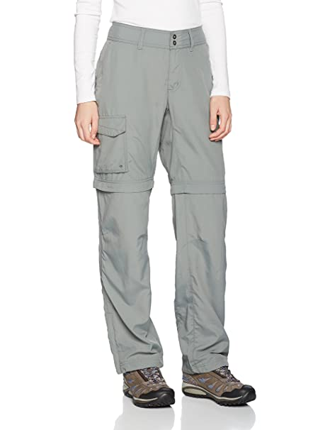 grande vente 11521 4a5f9 Columbia Silver Ridge Pantalon Convertible Femme: Amazon.fr ...
