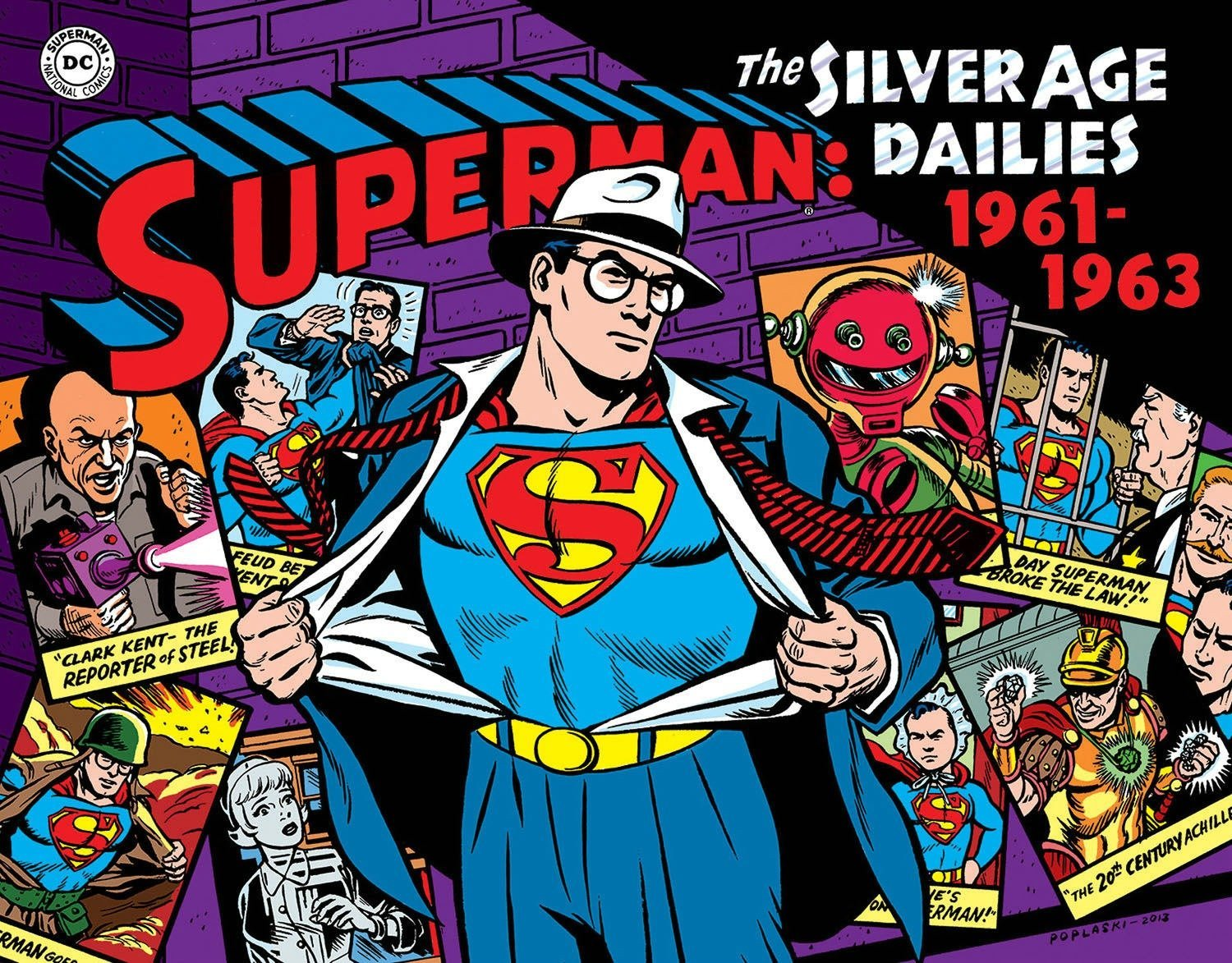 Superman: The Silver Age Newspaper Dailies Volume 2: 1961–1963 (Superman Silver Age Dailies) by IDW Publishing