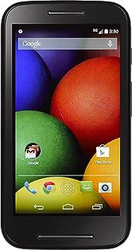 Motorola Moto E Android Teléfono prepago con Tres Minutos ...