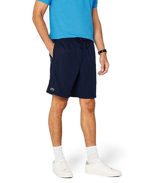 992687e0b116 Lacoste Men s Plain Taffeta Sport Shorts  Amazon.co.uk  Clothing