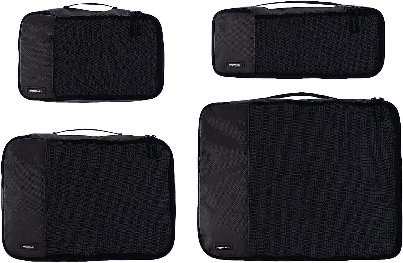 Rose Sacs de rangement de voyage Cubes demballage Multi-fonctionnel V/êtements 5 Pcs Voyage Bagagerie Valise Sac de rangement Sac V/êtements Sous-v/êtements Emballage Organizer Pouch pour HDWISS