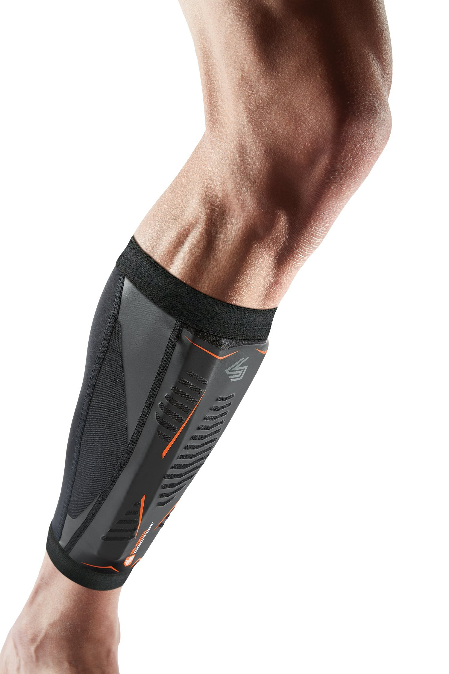 Shock Doctor Runners Therapy Shin Splint Sleeve, Black, Small