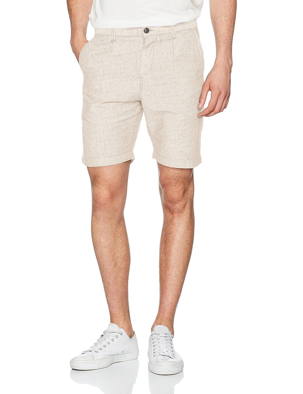 TALLA 50 (Talla del fabricante: Medium). JACK & JONES Jjilinen Chino AKM Shorts Drop Solid, Pantalones Cortos para Hombre