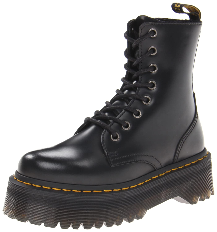 Dr. Martens Women's Jadon Boot B015OSGBAK 11.5 B(M) US Women / 10.5 D(M) US Men|Black