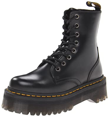 a638a53212bb Amazon.com | Dr. Martens Women's Jadon Boot | Motorcycle & Combat