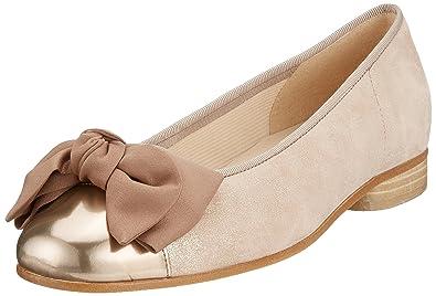 4b8c8a7a65 Gabor Shoes Women's Basic-Amy Ballet Flats, Multicolor (Rame/ENGL.Rose