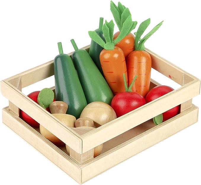 Pinolino Marktstand Lucy - Tidlo Kiste mit Gemüse