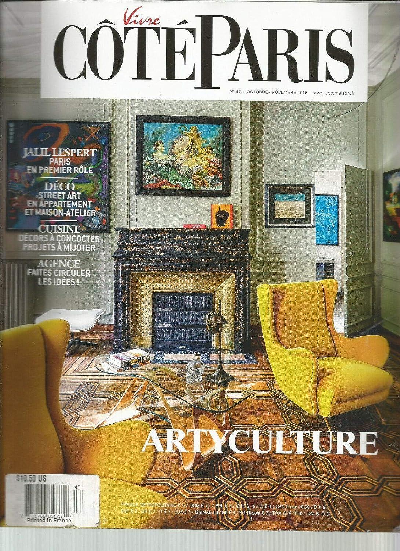 Amazon Com Vivre Cote Paris French Magazine No 547 October