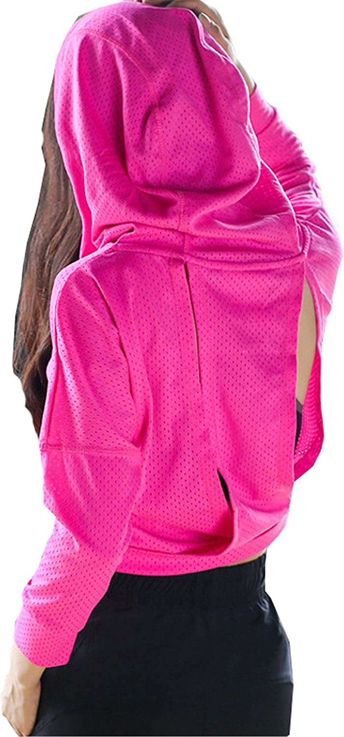 New Women Sports Hooded Jacket Outdoor Fitness Yoga Short Coat Lady Slim Breathable Running Clothes