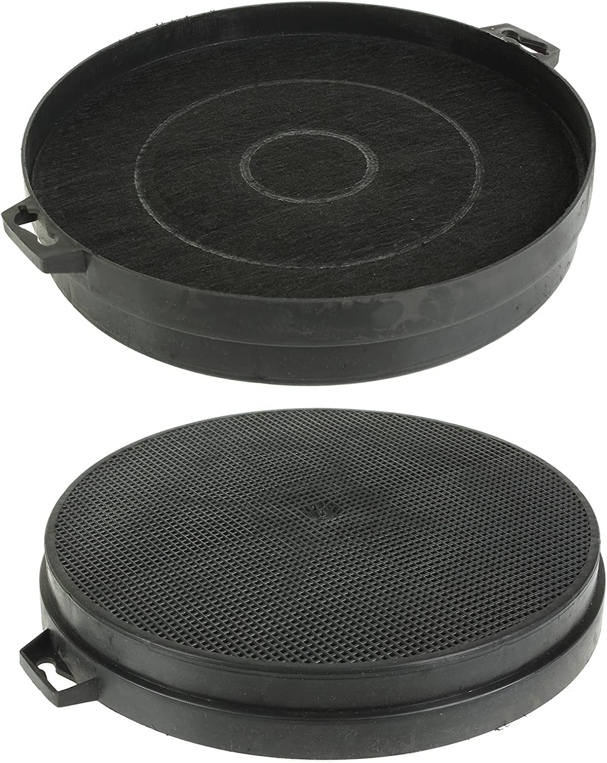 Pack of 2 Spares2go Charcoal Vent Filter For Howden HJA2500 Cooker Hoods
