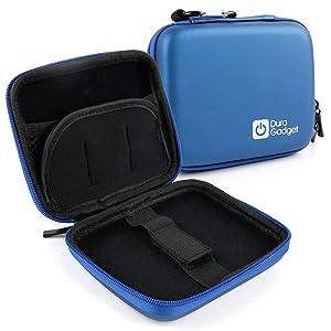 DURAGADGET Premium Quality Blue Shock-Absorbent Hard Shell Case - Compatible with The Nextbase in-Car Dash Cam 101|Dash Cam 202 Lite|Dash Cam 512G