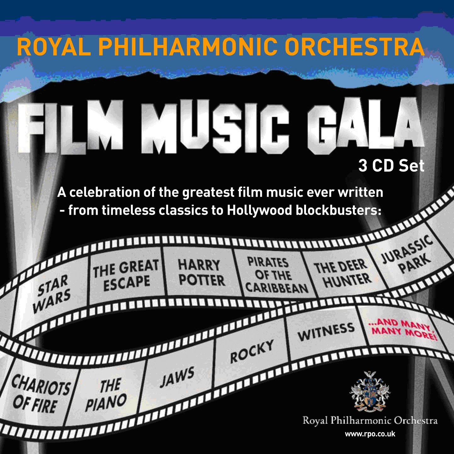 Film Music Gala: Celebration of Film Music by Royal Philharmonic Orchestra