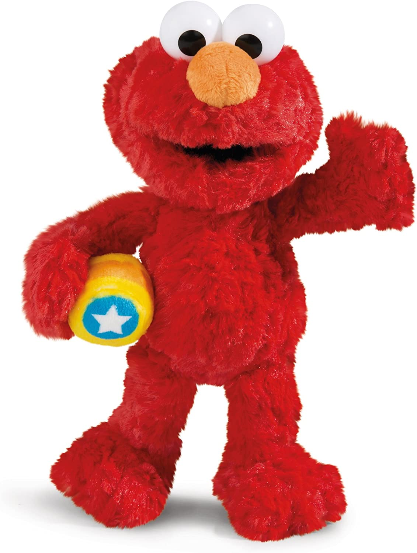 Nici 41959 Monster Elmo - Peluche (35 cm), Color Rojo