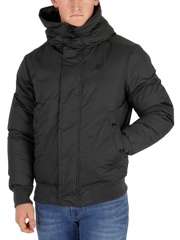 G-Star Men's Whistler Hooded Bomber Jacket, Green