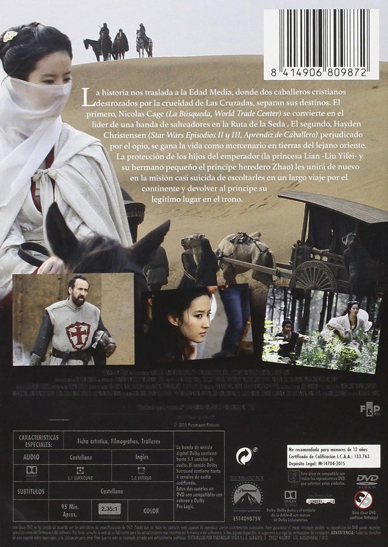Desterrado [DVD]: Amazon.es: Hayden Christensen, Nicolas Cage ...