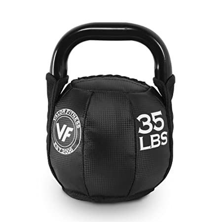 Valor Fitness SKB Soft Kettlebells 10, 15, 20, 25, 30, 35 lb. Options