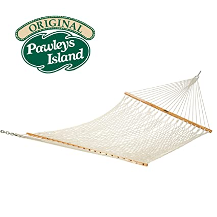 pawleys island hammocks large original cotton rope hammock amazon     pawleys island hammocks large original cotton rope      rh   amazon