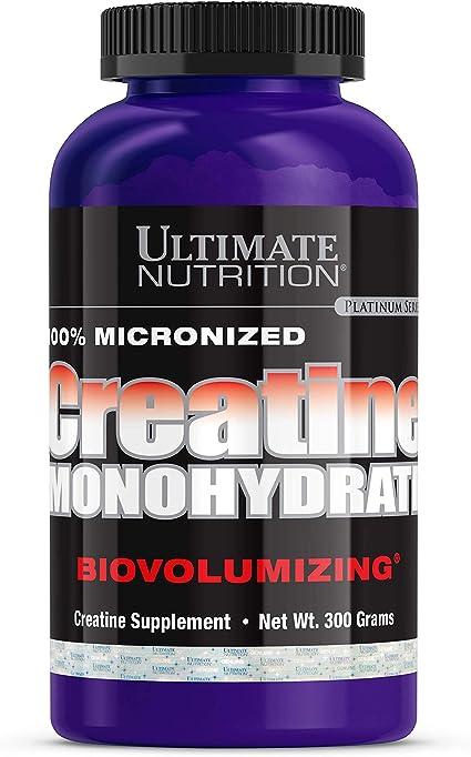 Creatina Monohydrate (300g) - Ultimate Nutrition por ULTIMATE NUTRITION