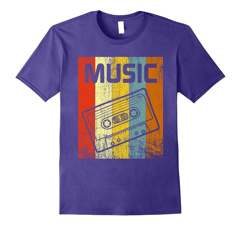 70s Music Cassette T-Shirt Disco Retro Vintage 70s Tee Shirt-FL