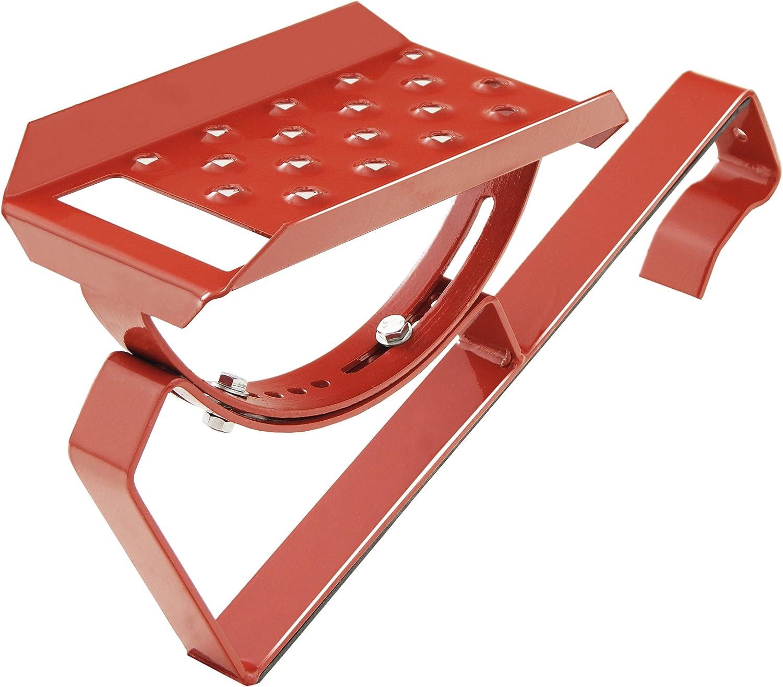 Anthrazit Einzeltritt Dachtritt 25cm f/ür Dachziegel und Biberschwanzziegel zum Einh/ängen